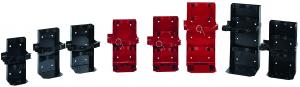 Heavy Duty Vehicle/Vessel Fire Extinguisher Brackets